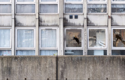 windows in block of flats